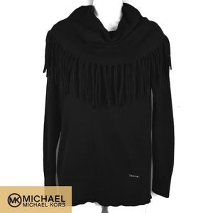 Michael Kors black sweater sz XS
